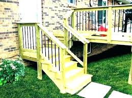 outdoor wood stairs wooden handrails exterior stair railings outside handrail design railing designs ideas i