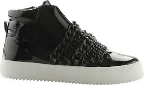 kendall kylie duke high top sneaker in patent leather women s