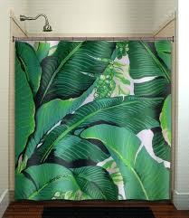 tropical print curtains banana leaf shower curtain tropical jungle green palm tropical leaf print fabric uk