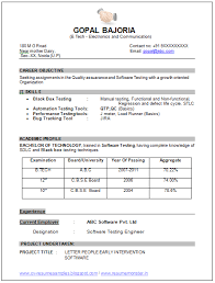 Best Solutions of Ece Sample Resume Also Format Sample
