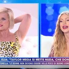Taylor Mega contro Antonella Elia: Ti consiglio di depilarti ...
