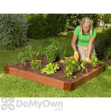 frame it all raised garden kit 4 x 4 ft