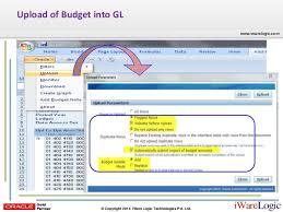 Webcast Budgeting R12 1 3 Oracle General Ledger