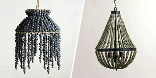 wooden ball chandelier chandelier beaded metal best beaded chandeliers beautiful wood chandeliers with beads model pottery