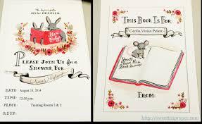 Childrenu0027s Books Baby Shower Theme  Google Search  Baby Shower Library Themed Baby Shower Invitations