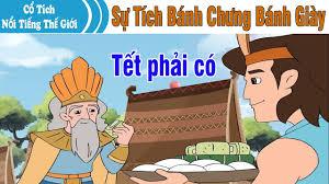 SỰ TÍCH BÁNH CHƯNG BÁNH DÀY | Chuyen Co Tich | Truyện Cổ Tích Việt Nam |  Phim Hoạt Hình Hay Nhất - YouTube