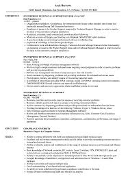 Technical Support Resume Enterprise Technical Support Resume Samples Velvet Jobs 15