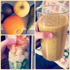fruit smoothie maken met blender