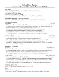 Legal Resume Templates Magnificent Legal Resume Example Letter Resume Directory