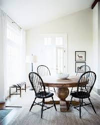 simple wood dining room chairs. for our new table and chairs dining room photo - black windsor surrounding a round wooden simple wood |