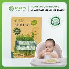 Mì Ăn Dặm Mầm Lúa Mạch Organic Anpaso ANPASO