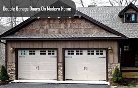 Double car garage door 011 experience advantage of converting single