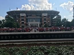 Bryant Denny Stadium Alabama Crimson Tide Stadium Journey