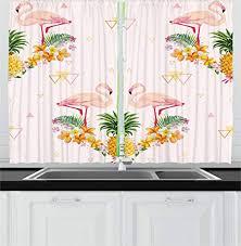 Pineapple Kitchen Curtains