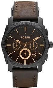 <b>Fossil</b> Chronograph <b>FS4656</b>   <b>Часы</b> с кожаным ремешком ...