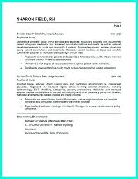 Collection Of Solutions Resume Format For Nurses Epic Registered