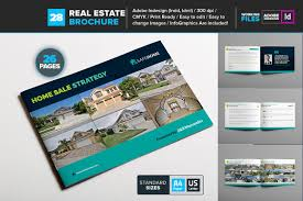 Real Estate Brochure Template Real Estate Brochure Template 24 Brochure Templates Creative Market 2