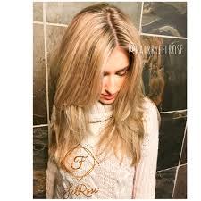 Beige Blonde Highlights Hairbyfelrose