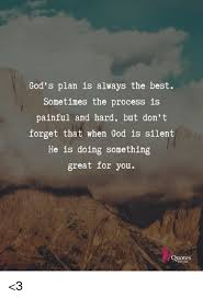 Gods Plan Quotes