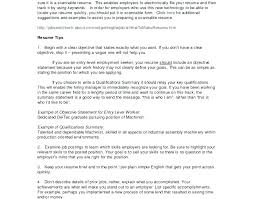 qualifications in cv example sample of qualifications in resume resume sentences examples