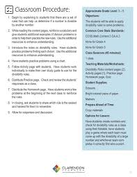 Divisibility Rules Chart Divisibility Rules