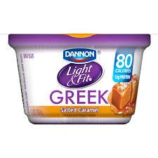 Dannon Light And Fit Limited Edition Dannon Light Fit Blended Nonfat Greek Yogurt Caramel