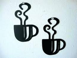 metal coffee cup wall art metal coffee wall art zoom metal coffee cup wall decor large