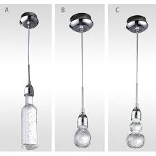 bubble lighting fixtures. Modern Simple Bubble Crystal Pendant Lighting 9602 Fixtures