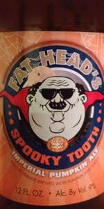 <b>Spooky Tooth</b> Imperial Pumpkin | Fat Head's Brewery & Saloon ...