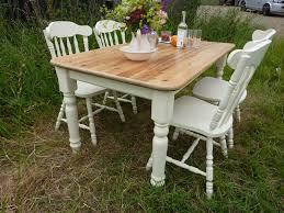 antique pine dining room chairs. picture of antique pine farmhouse table and 4 chairs dining room n
