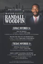 pictures of flyers invite of mayoral inauguration mayor randall woodfin home inauguration