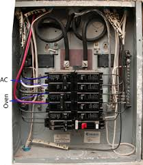 electrical oven suddenly tripping circuit breaker bad oven or circuit breaker box latch Circuit Breaker Box #47