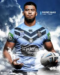 Nrl On Twitter Payne Haas Will Make His Nsw Debut At Just 19 Years And 185 Days With Just 10 Nrl Games Under His Belt He Is The 3rd Youngest Forward In