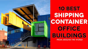 Shipping container office building South Africa Office 10 Awesome Modern Shipping Container Office Buildings Around The World Dundee Waterfront 10 Awesome Modern Shipping Container Office Buildings Around The
