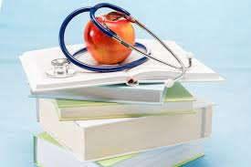 Image result for stacked medical books