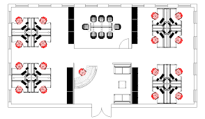 office furniture layouts. Modern Office Furniture Floor Plan Space Planning CAD Plans Layouts D