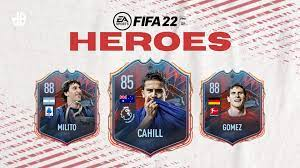 All FIFA 22 FUT Hero cards in Ultimate Team, from Cahill to Milito - Dexerto