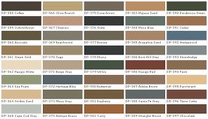 Behr Paint Colors Chart Behr Paints Behr Colors Behr Paint Colors Behr