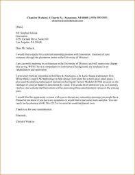Example Of A Motivational Letter For Internship Filename Portsmou