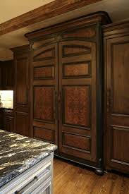wood panel refrigerator. Delighful Refrigerator How To Attach Wood Panels Refrigerator   Panels I Love When  Stencils Are Used Create An Inlaid Effect And Wood Panel Refrigerator Pinterest