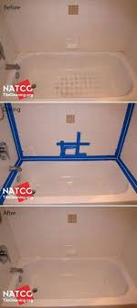 caulking a bathroom tub cleaning bathtub and white bathtub surround tiles and re caulking the bathtub how to re caulk a bathroom tub
