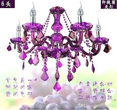 awesome new arrival purple crystal chandelier crystal light 6 arms home improvement reboot cast