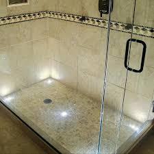 shower lighting ideas adding led lighting to your shower niche regarding shower led lighting ideas led