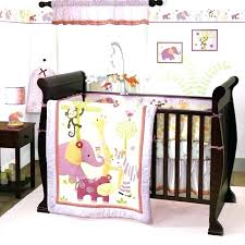 baby monkey crib bedding sets jungle crib bedding set lavender and pink jungle safari baby girl baby monkey crib bedding sets