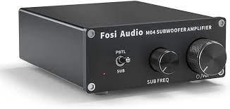 Amazon.com: Subwoofer Stereo Amplifier -100Watt 2-8ohm TPA3116 Mono Channel  Class D Amp Home Theater Power Amp for Passive Speakers/Home Bookshelf  Speaker-Fosi Audio M04 : Electronics