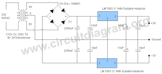 5v dual power supply circuit diagram 5v dual power supply circuit diagram
