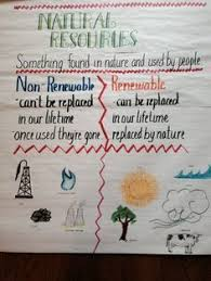 Chart On Types Of Natural Resources Brainly In