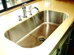 Single Bowl Undermount Kitchen Sink Single Bowl Kitchen Sink And