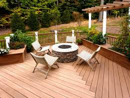 deck patio with fire pit. Exellent Pit Deck Designs With Fire Pit 20 Transitional Deck Designs Decorating Ideas  Design Trends New Inside Patio