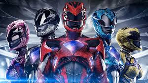 2017 Power Rangers Film At 1 In The Home Video Charts